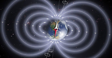 Campo magnetico terrestre: uno studio ne rileva i dettagli e mappa le anomalie