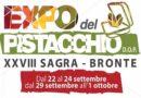 Bronte, le date ufficiali dell'EXPO-Sagra del Pistacchio 2017 e il bando per gli espositori
