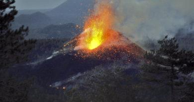 Versante ovest dell'Etna: i Monti De Fiore (1974), un esempio di eruzione eccentrica 'archetipica'