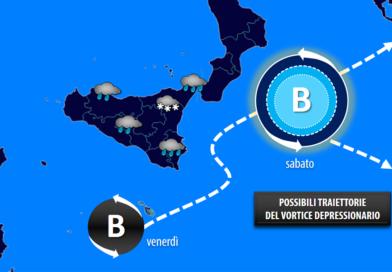 Etna, finalmente l'inverno: in arrivo piogge abbondanti e nevicate alle quote degli impianti sciistici